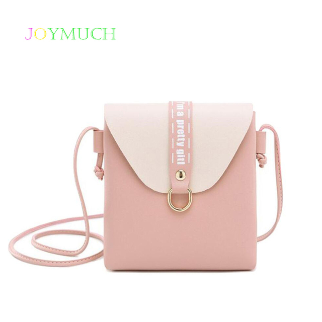 4e60e9d094f8 2019 version of the new women s bag color matching casual small square bag  shoulder bag Messenger