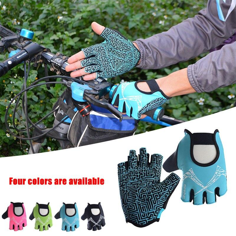 Profesionální fitness vybavení dynamické činky kola poloprstové rukavice sportovní protiskluzové poloprsté cyklistické rukavice