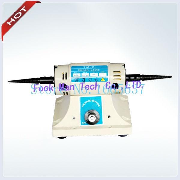 Free shipping FOREDOM BL-2 Bench Lathe polishing machine Bench Lathe Speed 1800-7000RPM Jewelry Polishing Machine