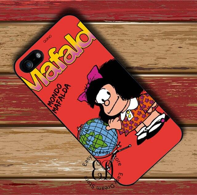 Mafalda Sfondo Di Caso Del Modello Per Iphone X Xr Xs Max 4 S 5 S