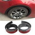 1 шт.  150 см  углеродное волокно  автомобильные шины  Eyebr  мягкие  для губ  колеса-арки  отделка  колесо  для бровей  арка  Декоративная полоса  ав...