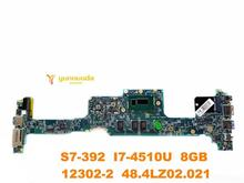 Original forACER S7-392 laptop motherboard S7-392 I7-4510U 8GB 12302-1 48.4LZ02.011 tested good free shipping