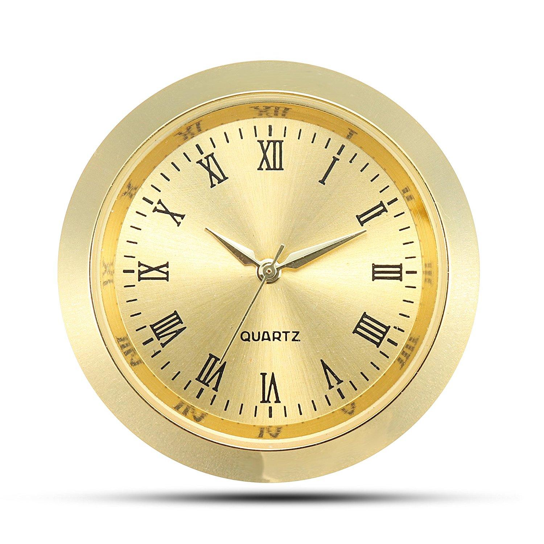 Mini Clock Insert Quartz Movement Round 1 7 16 35mm