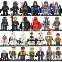 26pcs Lot Star Wars Ahsoka Tano Obi Wan Han Sole Leia Qui Gon Jawa Yoda Kylo