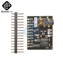 PCM5102 Module Audio Board Met Stereo Jack Beyond ES9023 PCM1794A DAC Voor Raspberry Pi pHAT Geluidskaart I2C IIC Interface module(China)