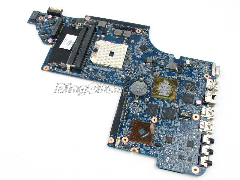SHELI laptop Motherboard For hp DV6-6000 650851-001 with 8 video chips HD6750/1G non-integrated graphics card sheli laptop motherboard for hp dv7 6000 655488 001 hm65 dsc 6770 2g non integrated graphics card