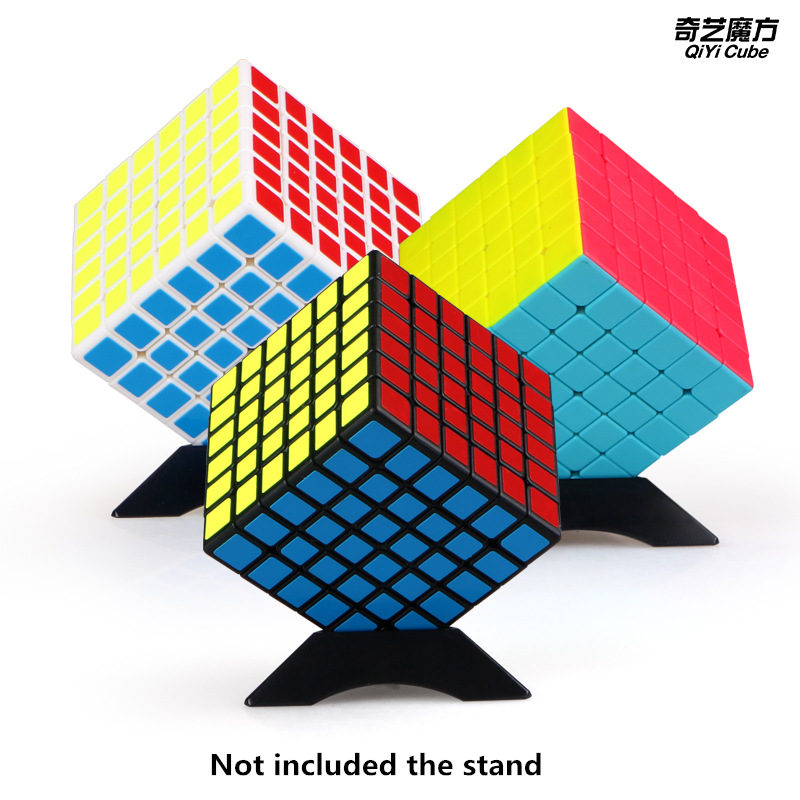 New Qiyi Qifan 6x6x6 Magic Speed Cube Stickerless Professional Puzzle Cubes Educational Toys For Children