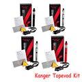 Auténtico Kang Topevod Kit de Cigarrillo electrónico Kit Kit Vaporizador Topevod Top Tanque de Carga De 650 mAh Batería Vs kang toptank nano YY