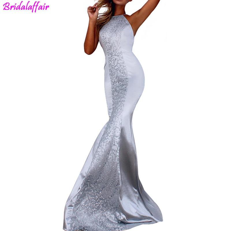 2019 Sexy V-Neck Mermaid   Evening     Dresses   Long Backless Long Maxi   Dress   Cheap Formal Party   Dress   Vestido De Festa