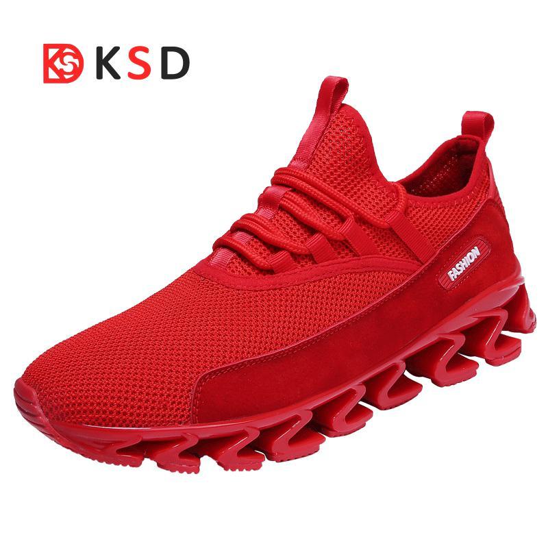 2018 Super popular Hommes Chaussures De curso Respirant Hommes zapatillas Rebond Chaussures rebote Chaussures De Sport Formati