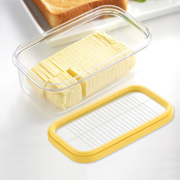Butter Cheese Cutter Box Slicers Knife Butter Cutter 1PC Stainless Steel ABS Dough Plane Grater Slicing Cheese Board Sets Tool