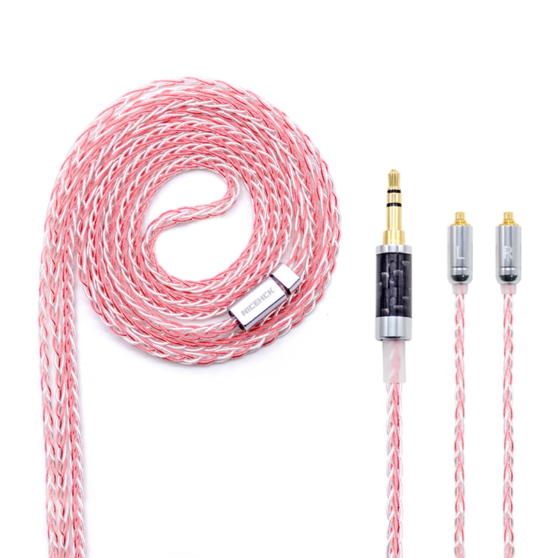 Portable Audio & Video Expressive Nicehck Mmcx/2pin Connector 3.5/2.5/4.4mm Balanced 8-core Copper Silver Mixed Cable For Se846 Zs10/zs6 Tfz Magaosi K5 Ncehck Hk6 Consumer Electronics