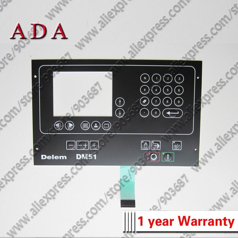 Delem DM51 Membrane Keypad for DELEM DM 51 Membrane Keyboard Switch for DM 51