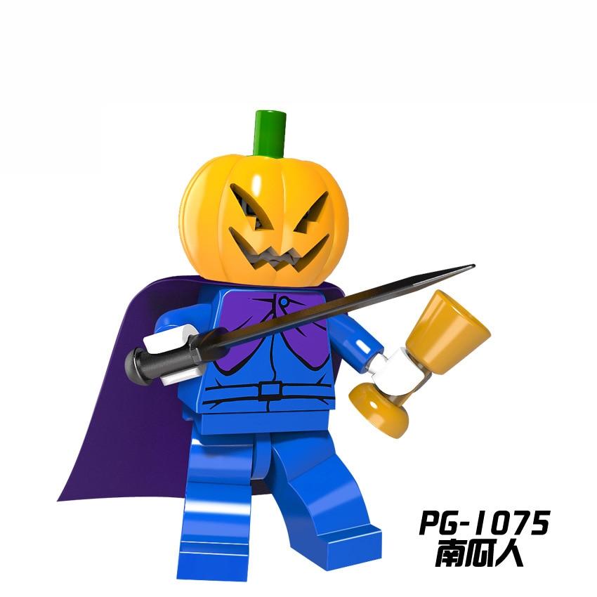 For Legoing Single Sale Tthe Horror Theme Movie Heroes Ghost Halloween Monster Warrior Jason Building Blocks Children Gift Toys #4