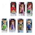 12 polegadas de cola evade justo jovem boneca da moda Princesa Sophia toy dolls meninas elsa anna bela adormecida Cinderela bella