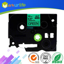 1 stks/partij 12mm * 8 m Tze 731 Tz731 Zwart op Groen Gelamineerd Tape Compatibel P touch 12mm tze-731 Label Tape Cartridge tz731 tze-731(China)