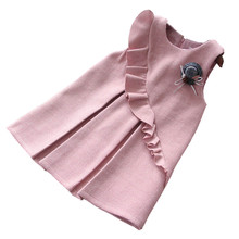 Y toddler girl dress christmas new year costume Kids Dresses For Girls princess Dress Sleeveless Party Dress For Girl clothes