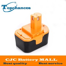 High Quality 14.4V 2000mAh NI-CD Power Tool Battery For RYOBI 130281002 RY62 RY6200 RY6201 RY6202 STPP-1441 14.4 Volt