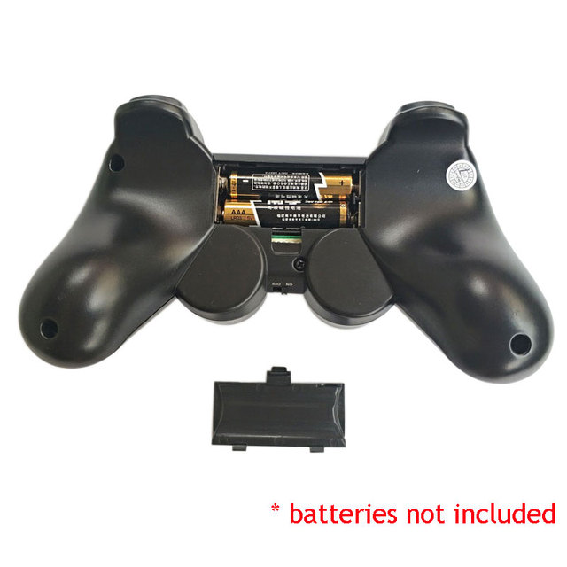 2pcs wireless gamepad PC game controller 2.4Ghz joystick with PC-360 mode and double vibration for computer Windows XP/ 7/ 8/ 10