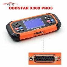 OBDSTAR X300 PRO3 מפתח מאסטר עם אימובילייזר + מד מרחק התאמת + EEPROM/PIC + OBDII DHL משלוח חינם