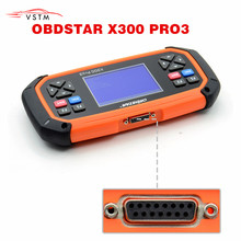 OBDSTAR X300 PRO3 Key Master with Immobiliser + Odometer Adjustment +EEPROM/PIC+OBDII DHL Free Shipping недорго, оригинальная цена