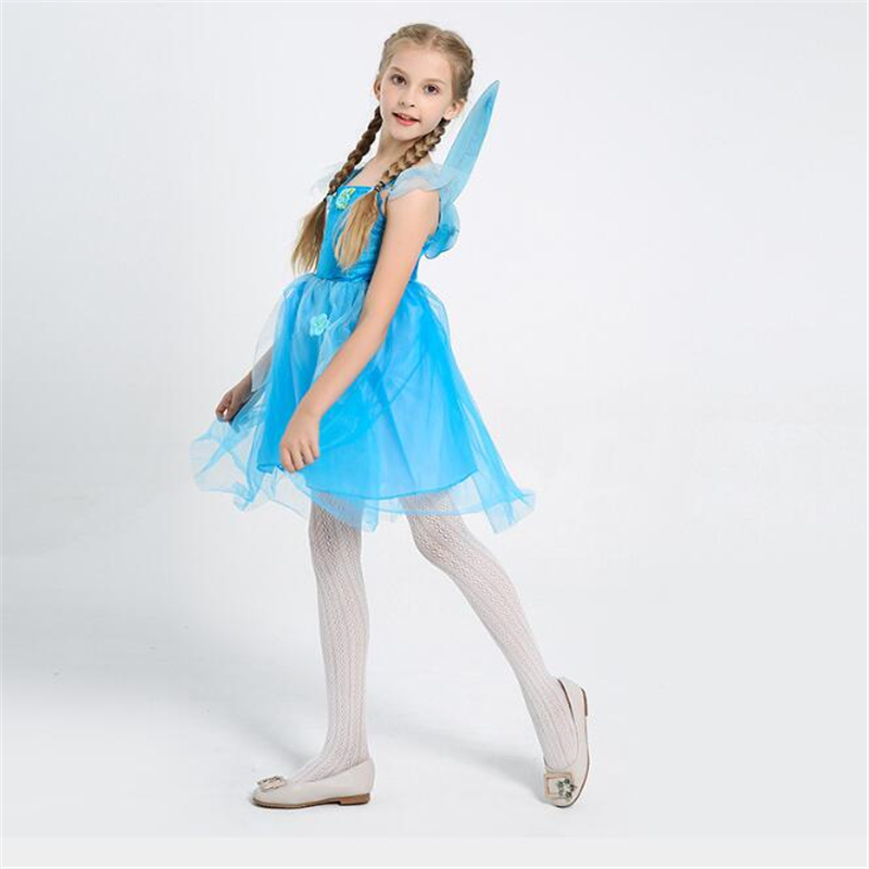 New Arrival Girls Fairy Elf Costume Halloween Performance Party Kids Cosplay Clothing