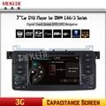 3G HOST + MTK DVD Do Carro para BMW E46 M3 rádio do carro para BMW E46 com GPS Rádio Ipod Bluetooth USB/SD, suporte 3G + mapa gratuito