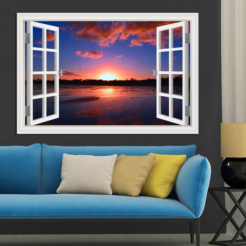 Զարմանալի Sunny Lake and Blue Sky Scenery Բարձրորակ - Տնային դեկոր - Լուսանկար 6