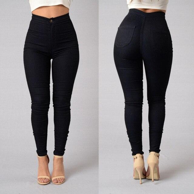 Artı Boyutu 3XL Yüksek Bel Rahat Streç Kadın kalem pantolon Düğmesi Kadın Pantolon Bayanlar Katı Renkler kalem pantolon HO954031
