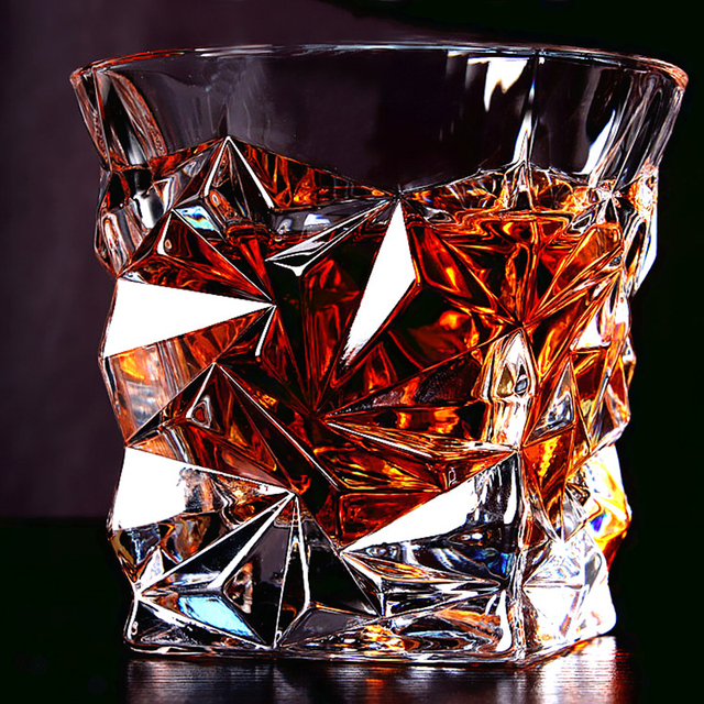 Whiskey Glasses with Various Shapes and Styles