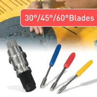 Graphtec CB09 Silhouette Holder 15Pcs Blades Vinyl Cutter Plotter 30 45 60 Degree Newest