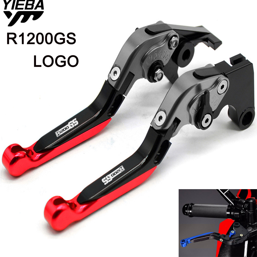 For BMW R1200GS R1200 GS R 1200 GS R 1200GS 2004-2012 2011 Motorcycle CNC Brake Handle Adjustable Folding Brake Clutch Levers cnc anti slip 3d folding brake clutch levers for triumph daytona 675 r 2011 2014