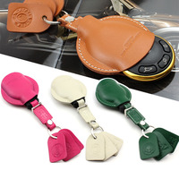 Xe Leather Thông Minh Từ Xa Túi Chìa Khóa Fob Chủ Bag Trường Hợp Che chủ Đối Với Mini Cooper R55 R56 R60 R Countryman R61 Xe phụ kiện
