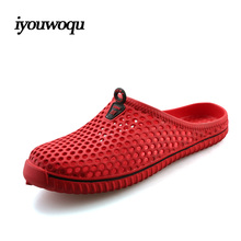 Fashion Women Slippers 2016 Summer Breathable hollow Beach sandals Plus Size Sandals Women Red White Blue 36-45 sandalias mujer