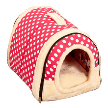 Multifuctional Dog House Nest With Mat Foldable Pet Dog Bed Cat Bed House For Small Medium Dogs Travel Pet Bed Bag Product