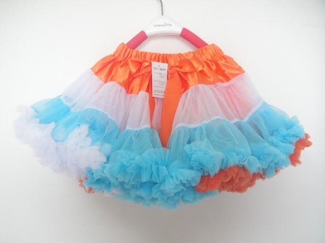 Retailer Hot Kids girls princess skirt sequined Petti tutu skirts for children girls party Skirts dancing wear PETS-176