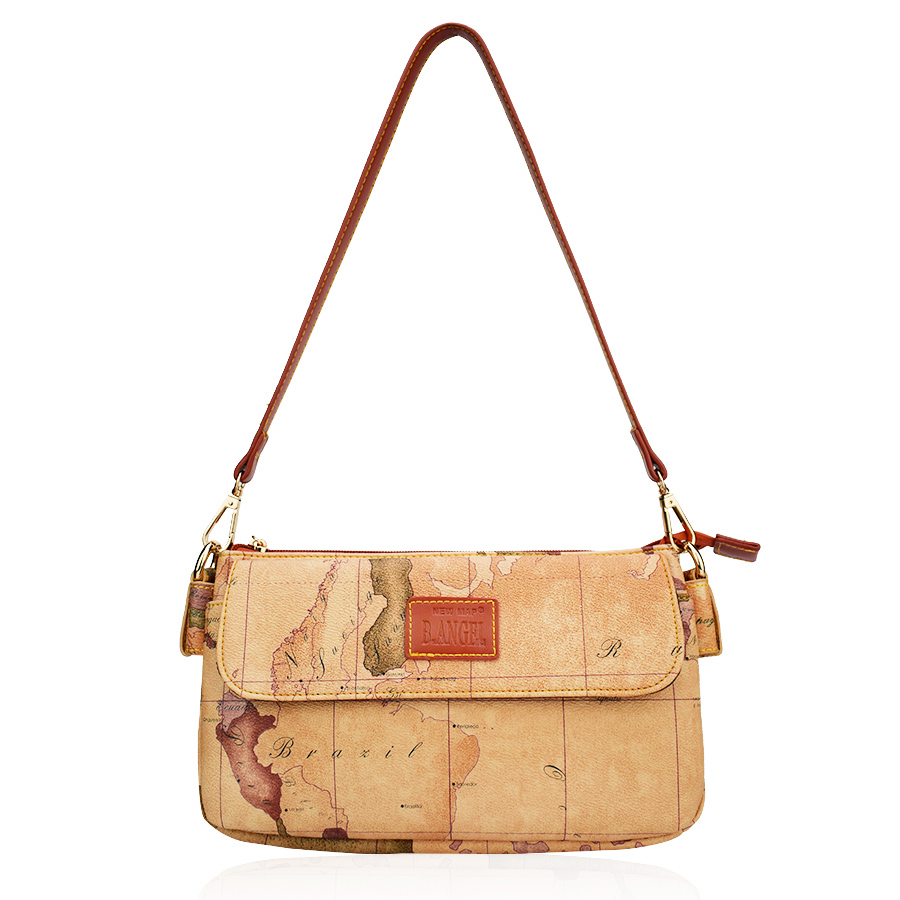 US $53.11 |Vintage World Map Pouchy Women Bag Purse for Women Brand on wwii map bag, travel bag, german map bag, korean map bag, military map bag, poster bag, russian map bag, italian map bag, vintage compass, world map bag, leather map bag,