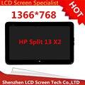 LCD LED de la Pantalla Táctil de cristal Digitalizador Asamblea reemplazo 6041L08-001 para HP Split 13X2 PC 5381R FPC-1