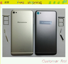 Original Metal Material Rear Housing Back Battery Back Cover Case For Lenovo S90 Housing+sim card tray holder +side button