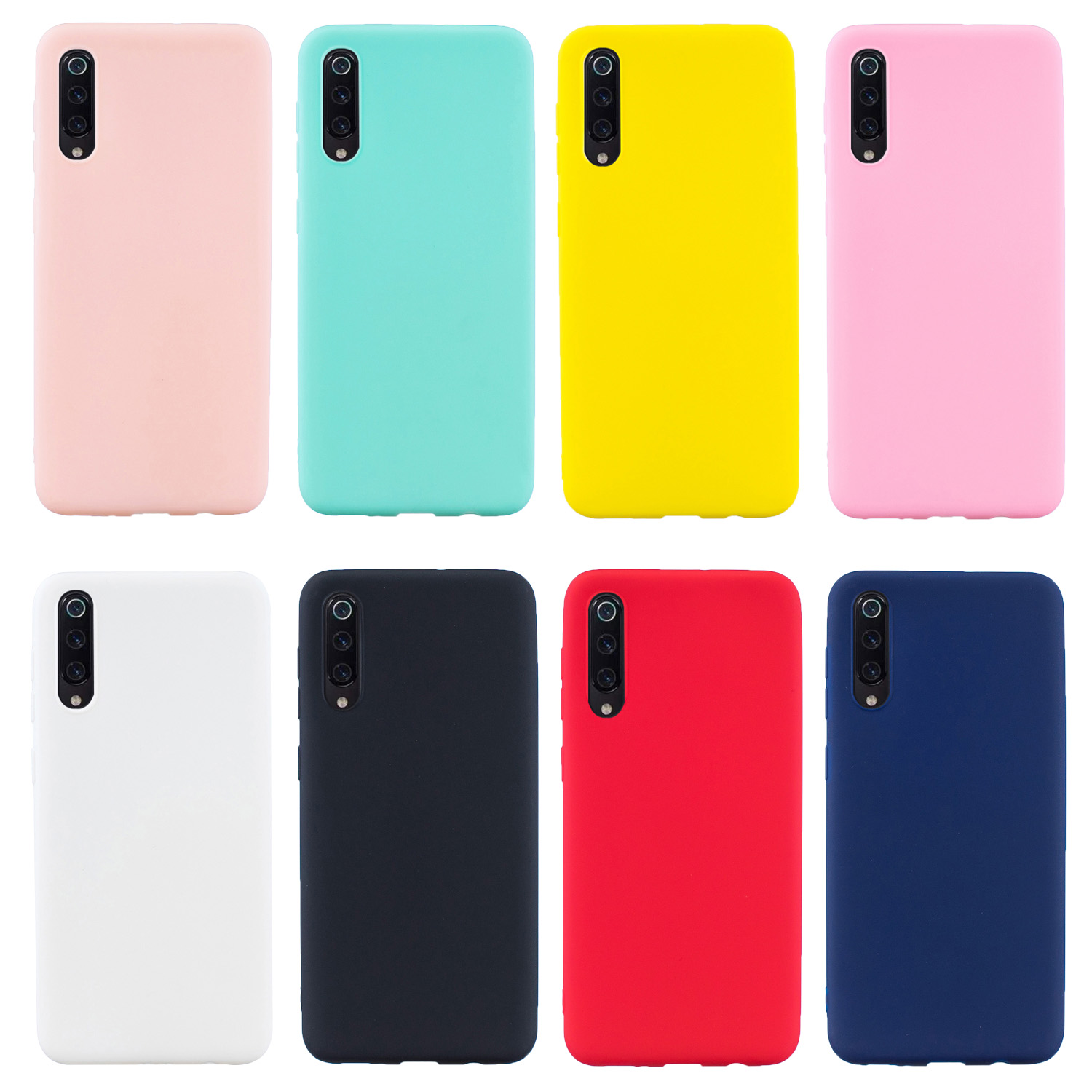 Color TPU Silicone Frosted Matte Case