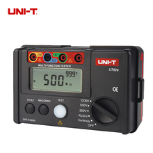 UNI-T UT526 Multi-Functional Electrical Insulation Tester Earth Resistance Meter + 1000V+RCD Tester+Continuity+Vac/dc (4 in 1)