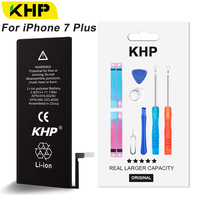 2018 KHP Original 2900mAh Mobile Phone Battery For IPhone 7 Plus Battery Original High Capacity With