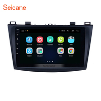 Seicane ROM 16GB Car 9 Inch Android 8.1 GPS Navigation Radio Multimedia Player for MAZDA 3 2009 2010 2011 2012 support TPMS 3G