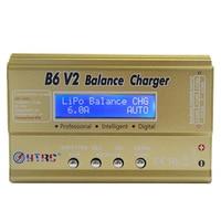 HTRC B6 V2 80W 6A DC RC Multi Charger For LiPo LiIon LiFe NiCd NiMH LiHV