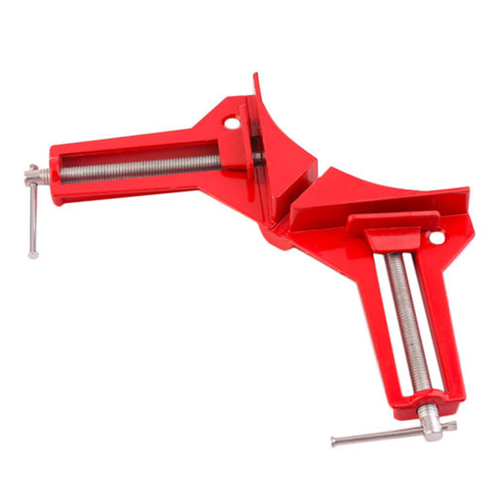 Woodworking 90 Degree Right Angle Picture Frame Corner Clamp Clip Holder Tool