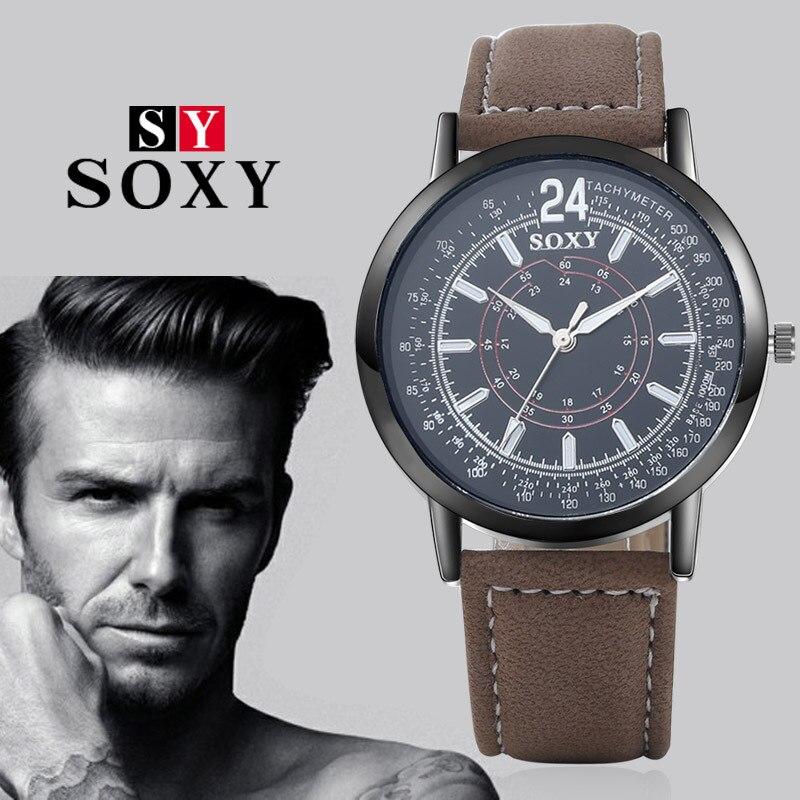 인기있는 남성용 시계 창조적 인 석영 운동 시계 - 남성 시계