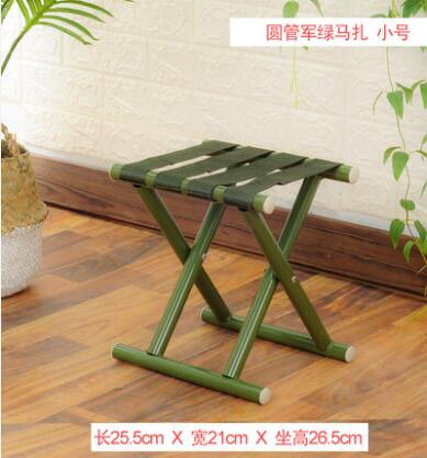 Metal Folding Thicken Step Portable children Stools outdoor fishing desk Travel home ultra light folding stool chair 1pc C605