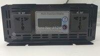 Digital Display DC24V to AC220V power inverter 3000W pure sine wave Peak power 6000W