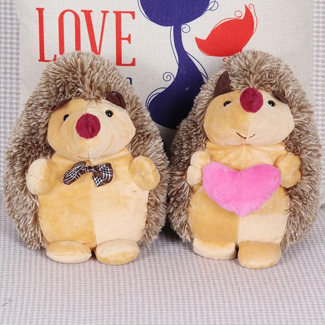 New hot  wedding gift 18cm kids creative lovers&couples hedgehog plush toy children cartoon stuffed toy&dolls Birthday gift