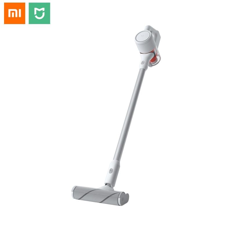 Original Xiaomi Mijia limpiador de vacío inalámbrico portátil 23000PA fuerte Profundidad de succión eliminación de ácaros Batería grande Aspiradora